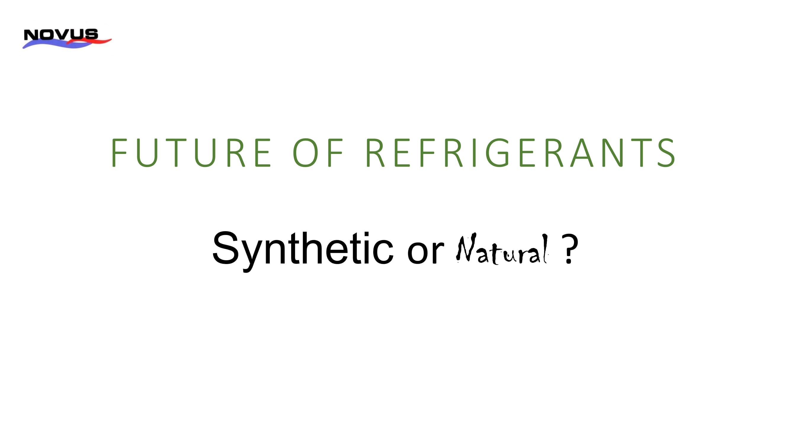 FUTURE OF REFRIGERANTS 1-01